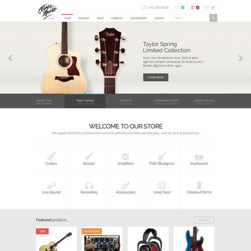 Ecommerce Corner Music
