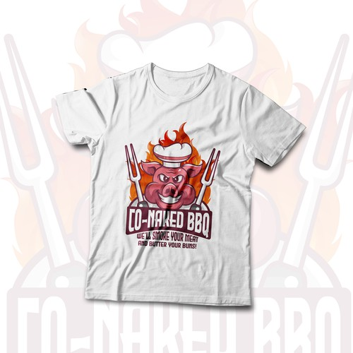 CO-NAKED BBQ T-SHIRT CONCEPT