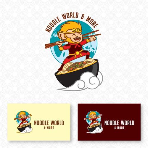 Logo for Noodle World & More