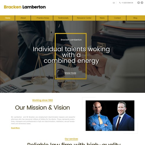 Lawyers Website