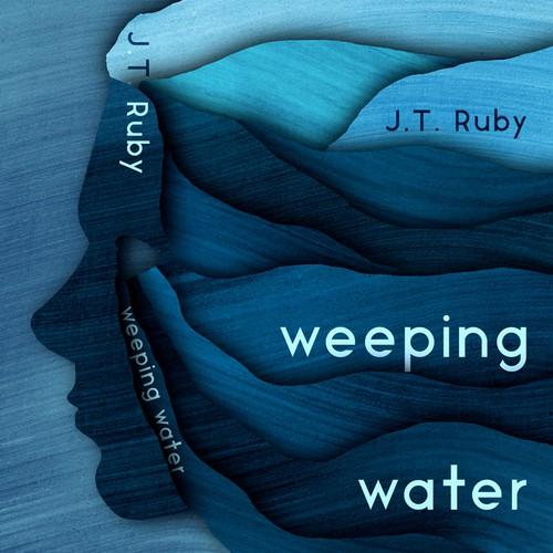 Graphic illustrated book cover design