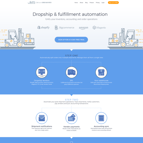 Dropship and fulfillment automation