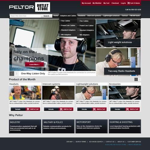 Peltor outlet Store