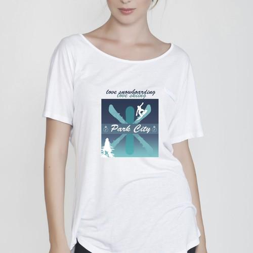 t-shirt for Park City
