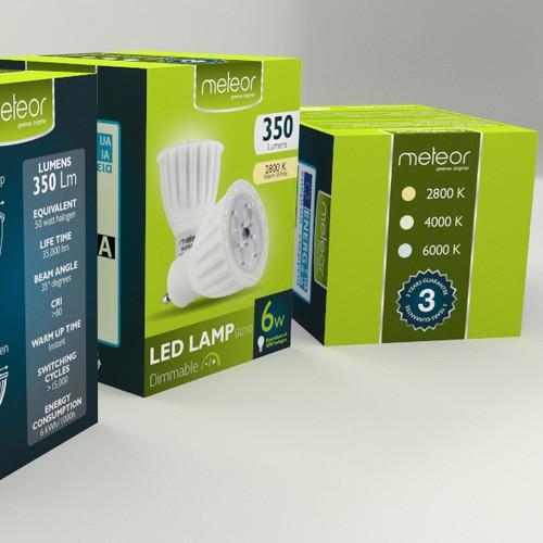 Packaging for Meteor Lighting