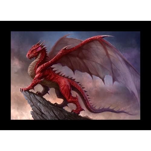RED DRAGON ARTWORK