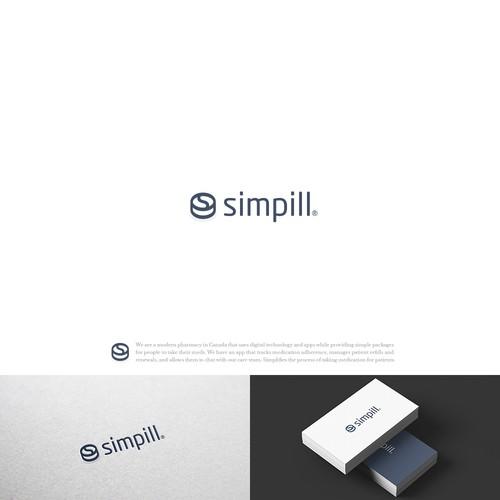 bold logo for pharma