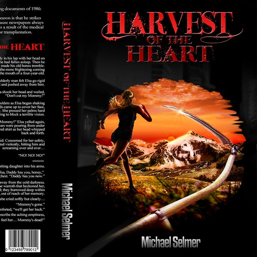 Harvest of the Heart, needs exciting book cover design
