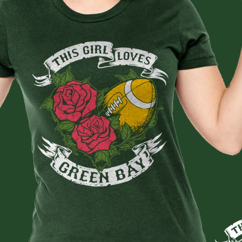 Girl Loves Green Bay