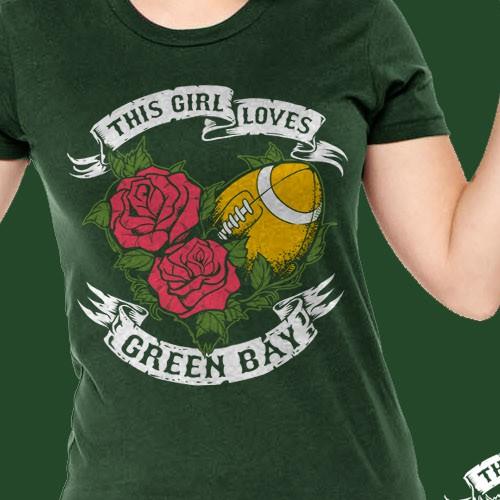Girl Loves Green Bay