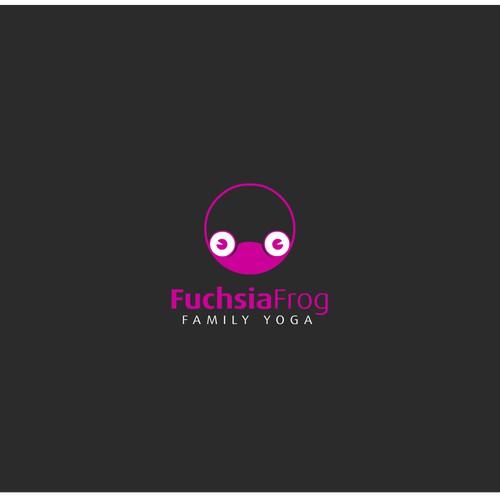 Fuchsia Frog design