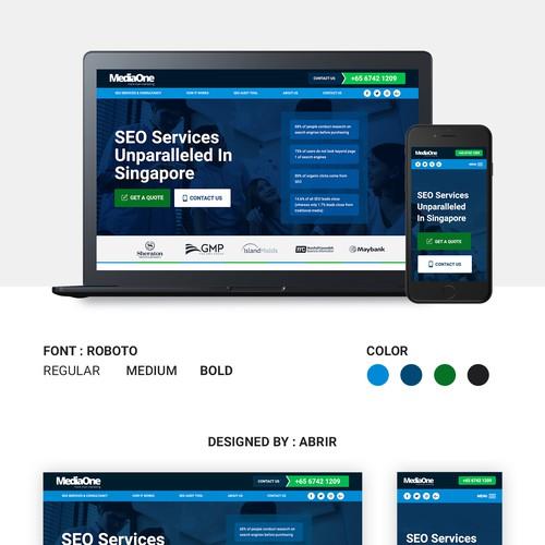Professional Design for Digital Marketing Agency