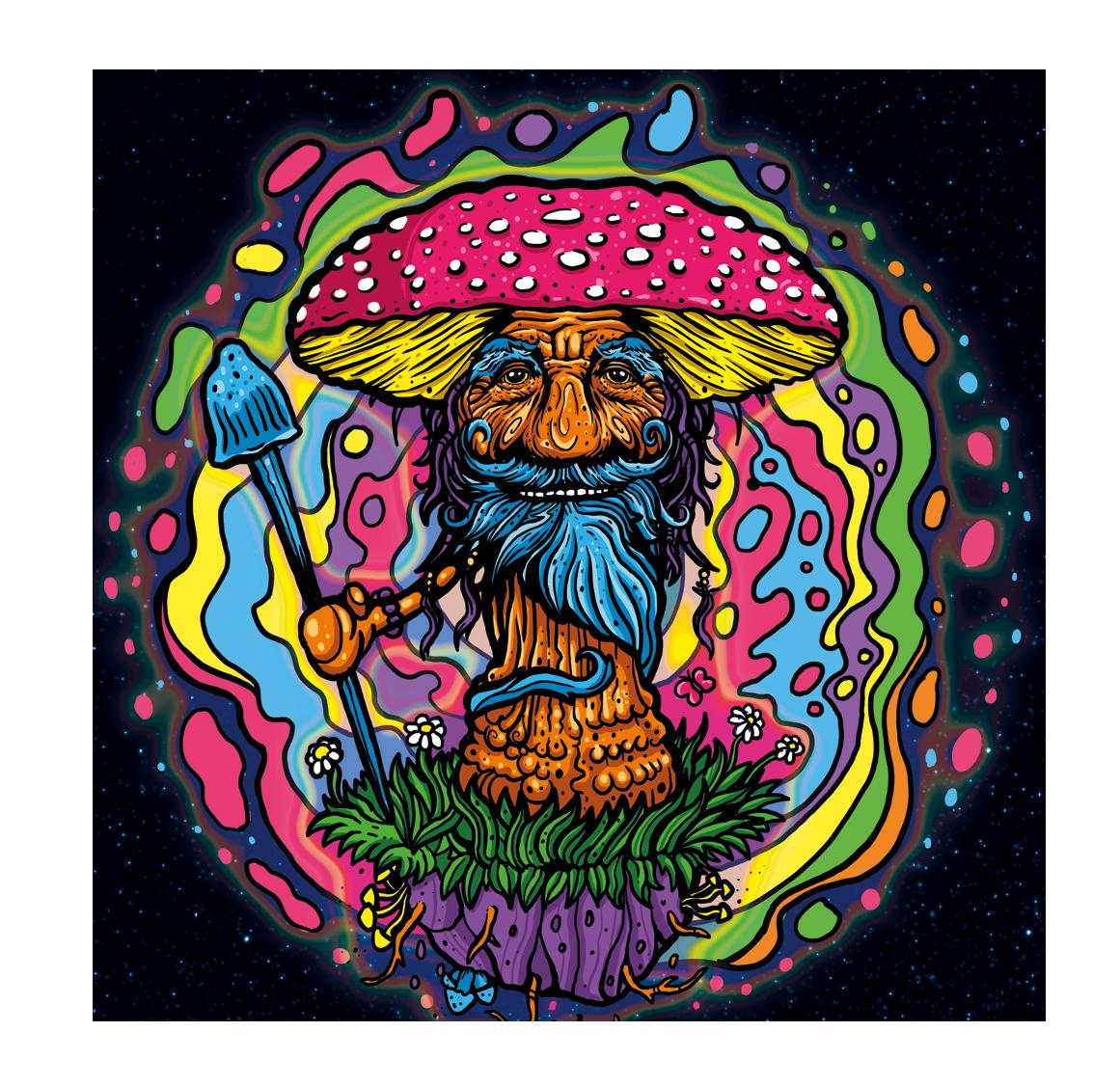 Psychedelic Mushroom Gummy brand