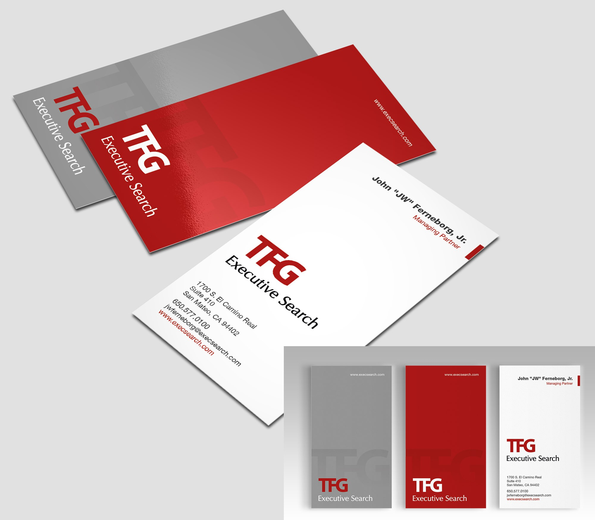 business card for TFG Executive Search
