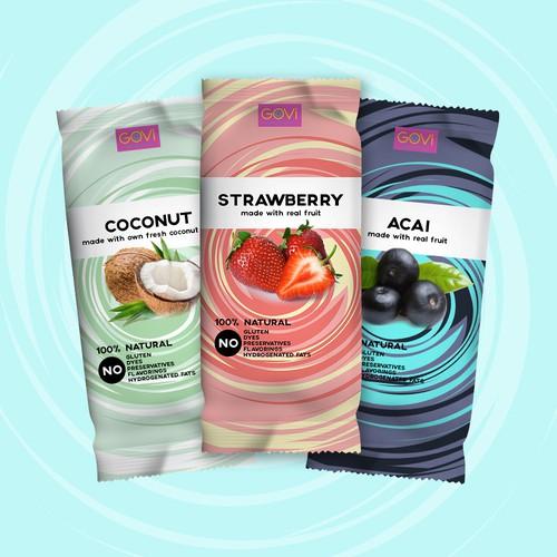 Packaging design for Goovi