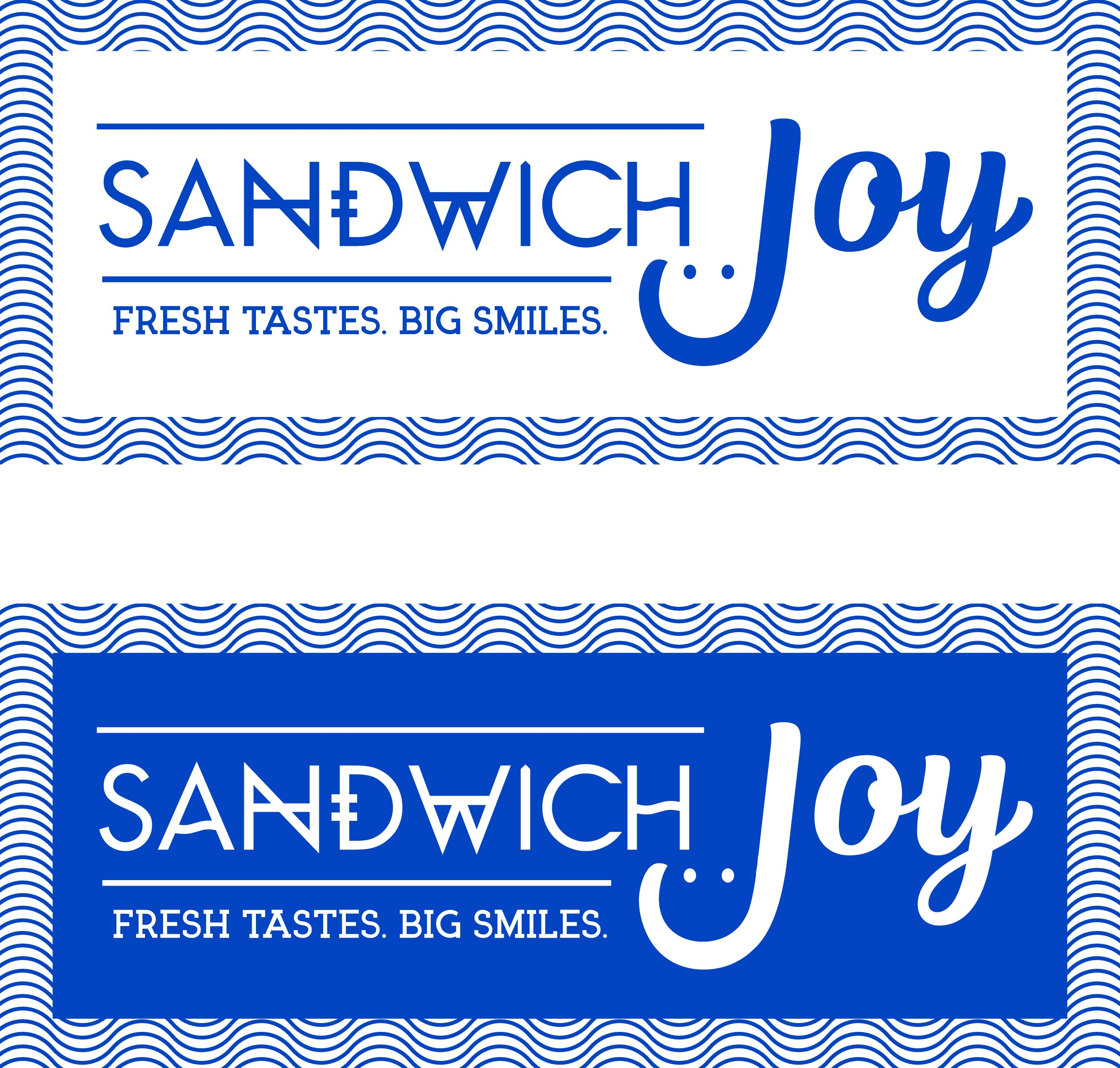 Create a captivating logo for a brand new bright and cheerful sandwich cafe