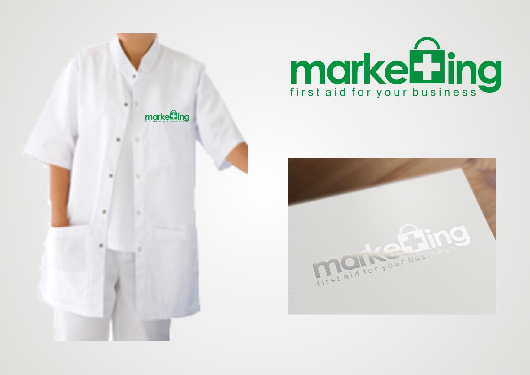 logo for marketing / marketing doctor