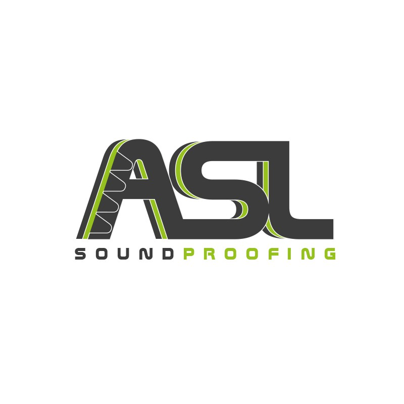 Create the next logo for ASL Soundproofing