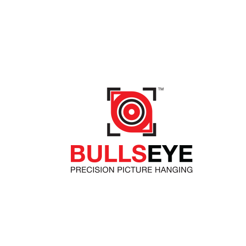 Create the best logo for our new wall decor/picture hanging product Bullseye