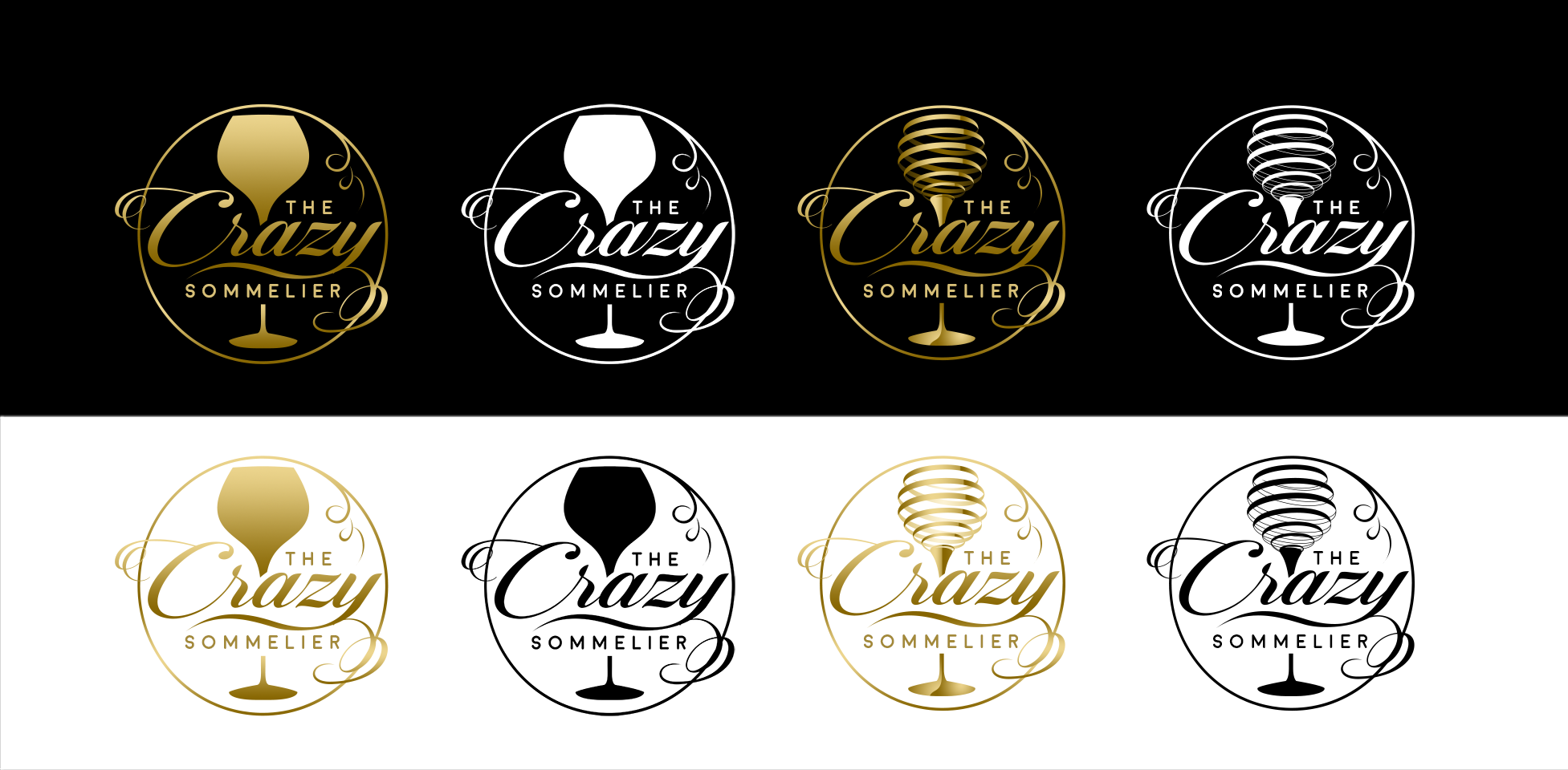 The Crazy Sommelier needs your logo