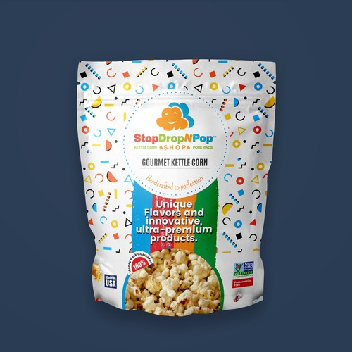 Pop-Corn Package Design