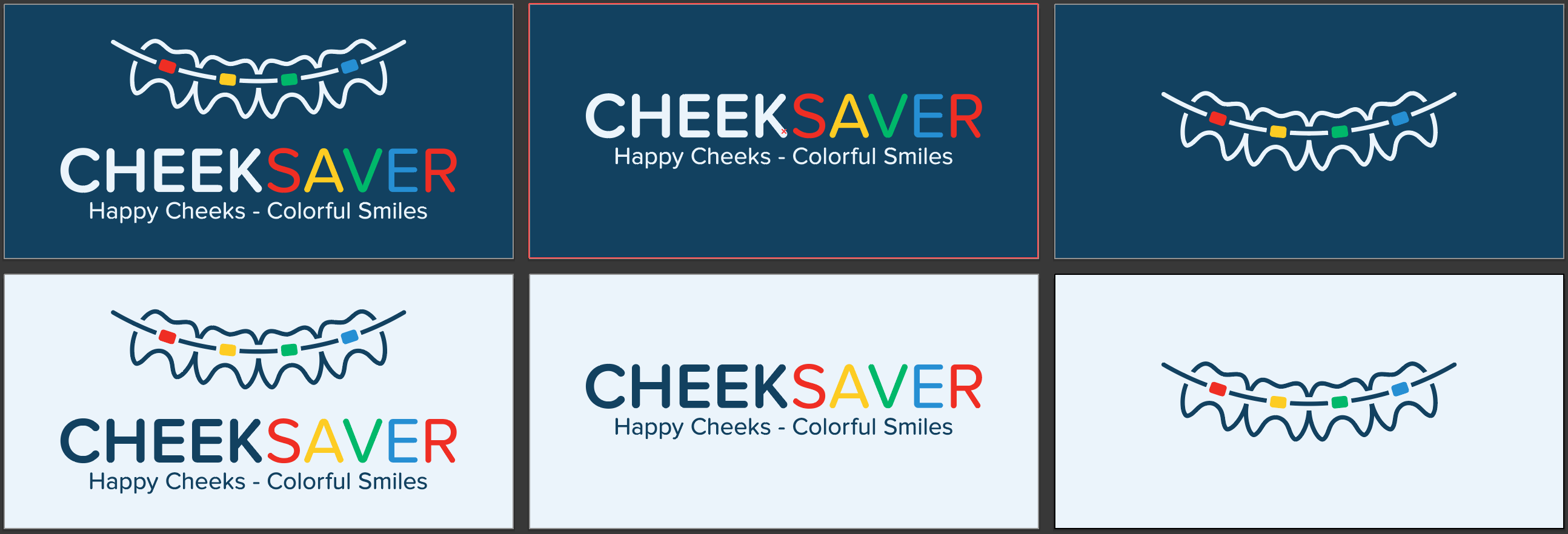 Design a Cool, Fun Logo for an Orthodontic Bracket cover