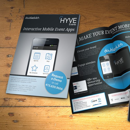 HYVE events brochure