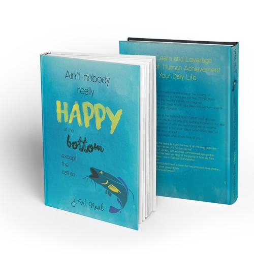 Fun design for a self help book