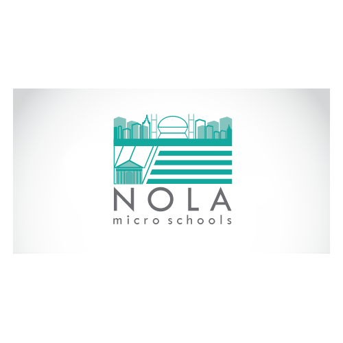 Creative logo for an innovative school in New Orleans
