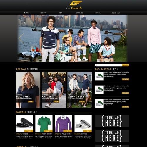 Website for Est. Casuals
