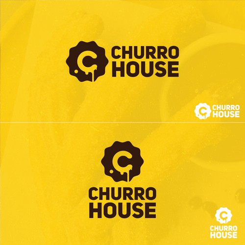 Clean and fun logo for Churro House