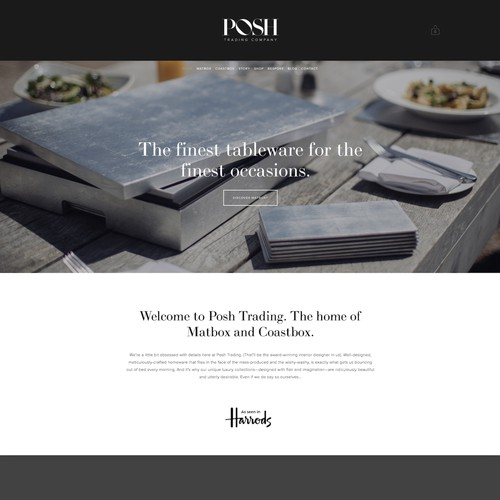 Posh Trading Co Website
