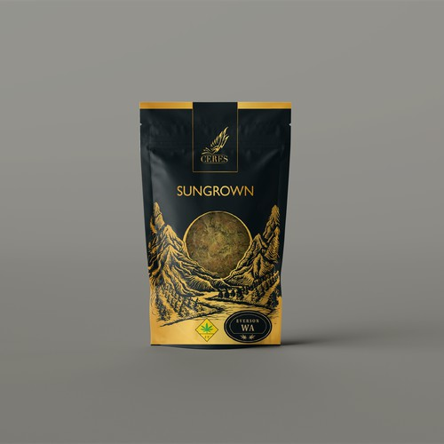 Illustrated Packaging for Cannabis Producer