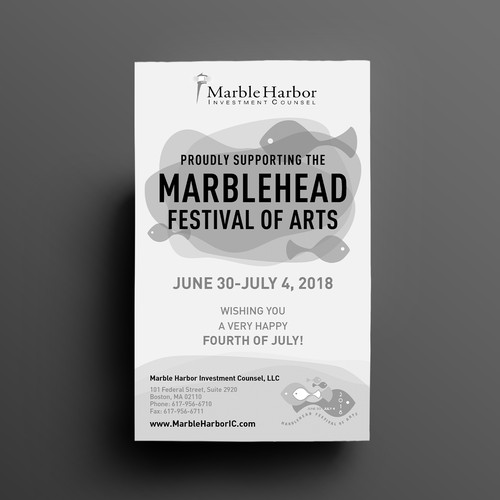 Ad for Arts Festival support