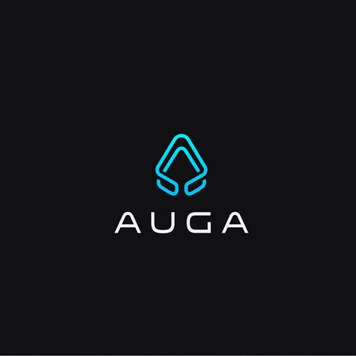Logo for Auga - a boutique development house