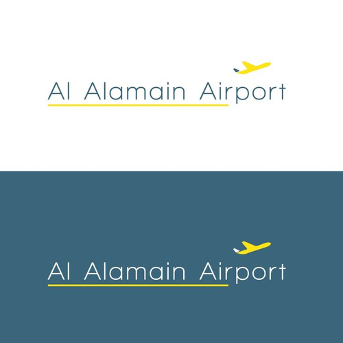 Modern Logo for an Airport