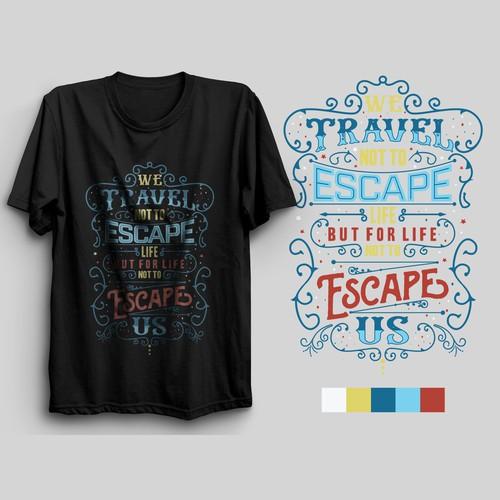 Typography tshirt