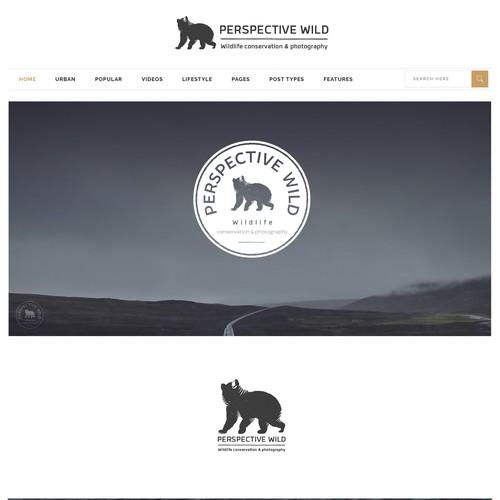 Vintage Wildlife logo design