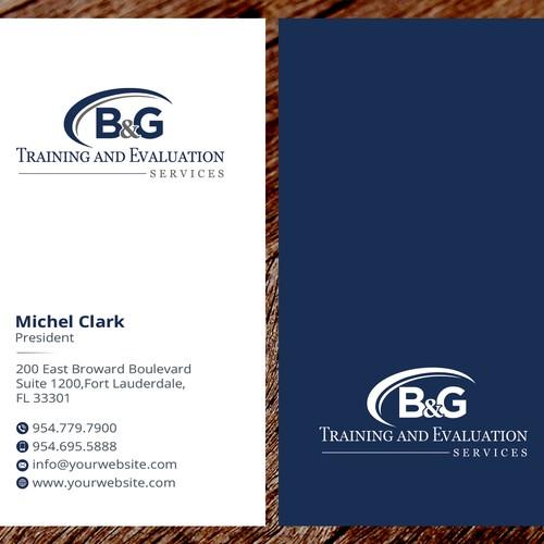 B&G Business card