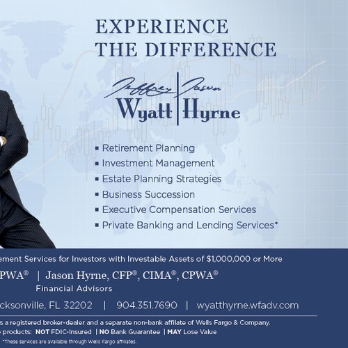 Financial Advisors Seek High End Ad