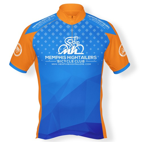 Jersey Design for Memphis hightailers bicycle club