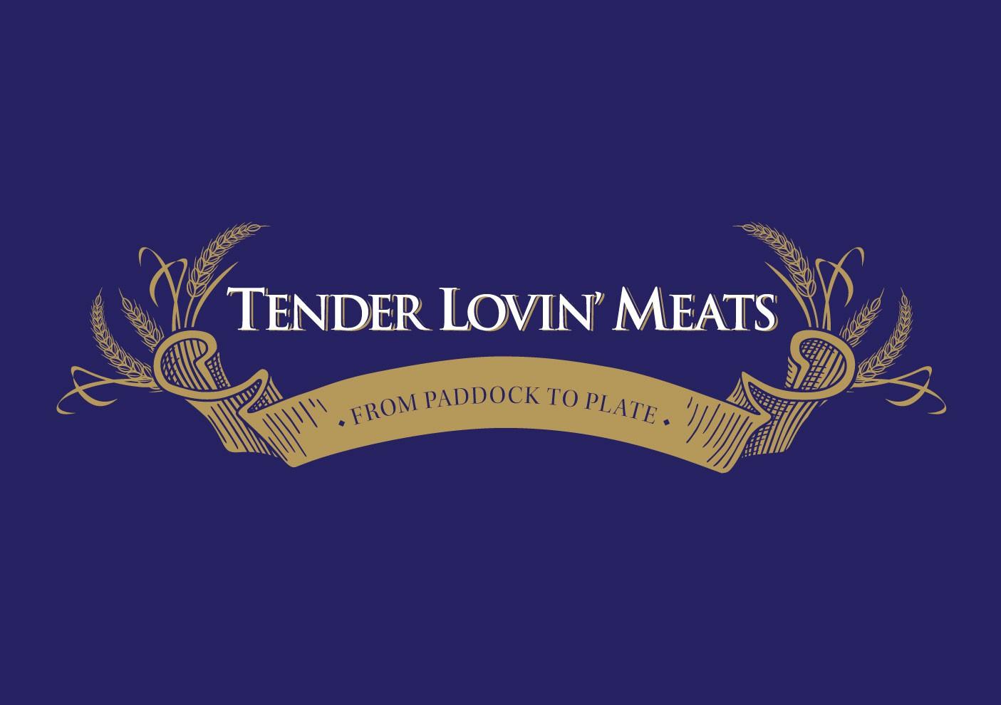 Create the next logo for Tender Lovin' Meats