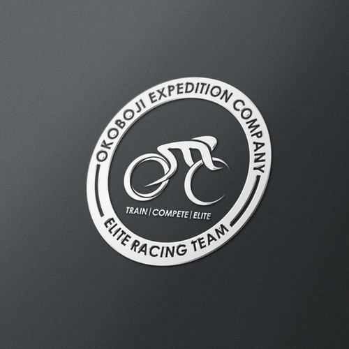Create a logo for an Elite triathlon, running, and cycling team!