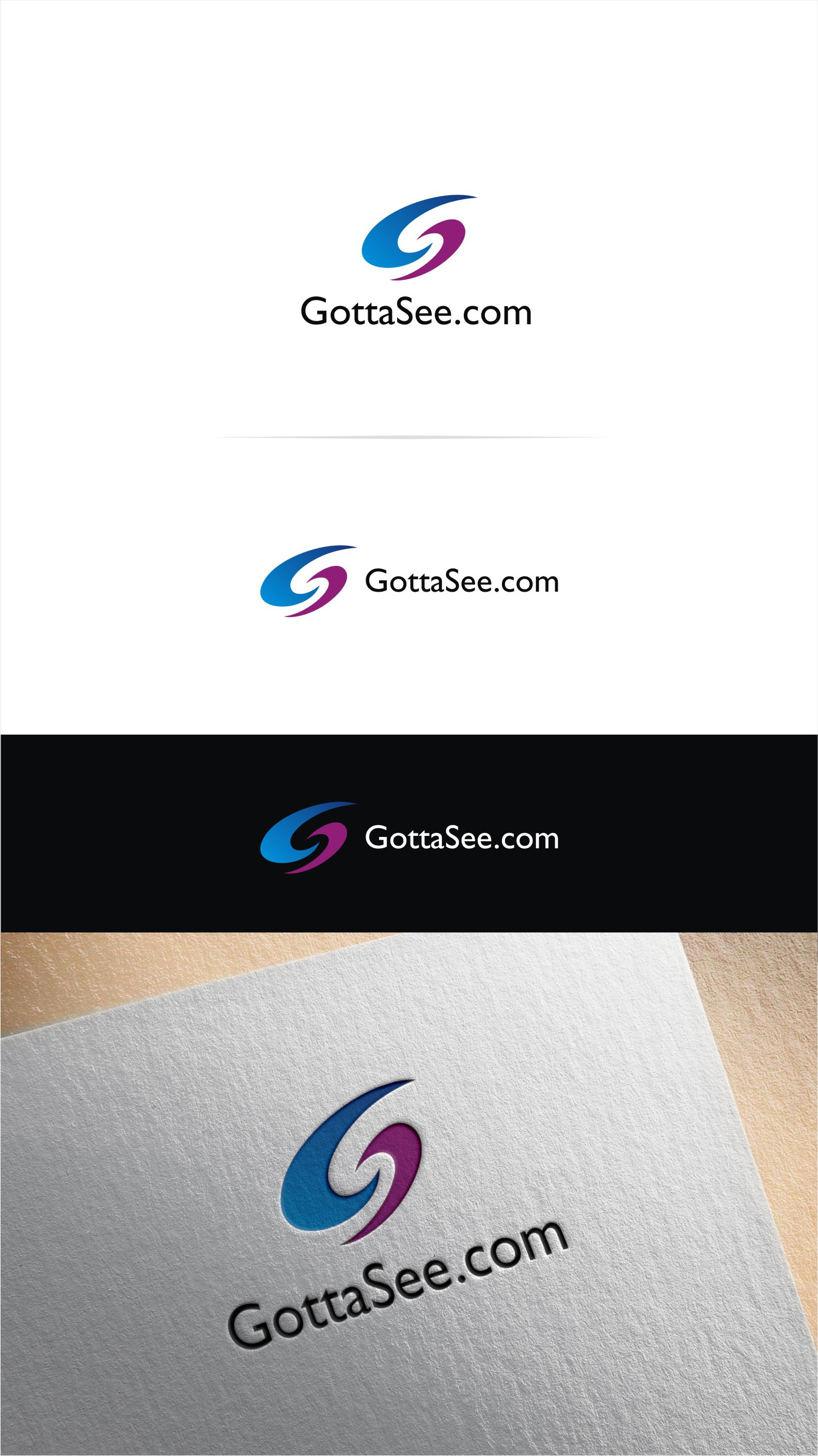 Create an Amazing Header/Logo for GottaSee.com!