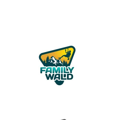 Logo Design concept for Family Wald
