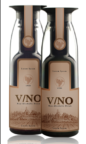 New logo + product label wanted for Vino