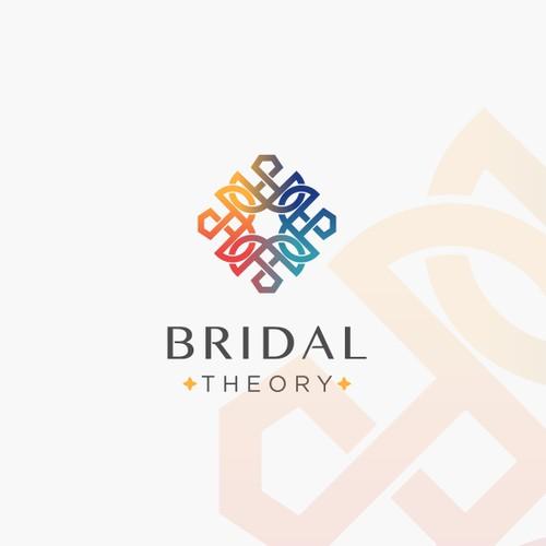 Modern logo for Bridal Theory