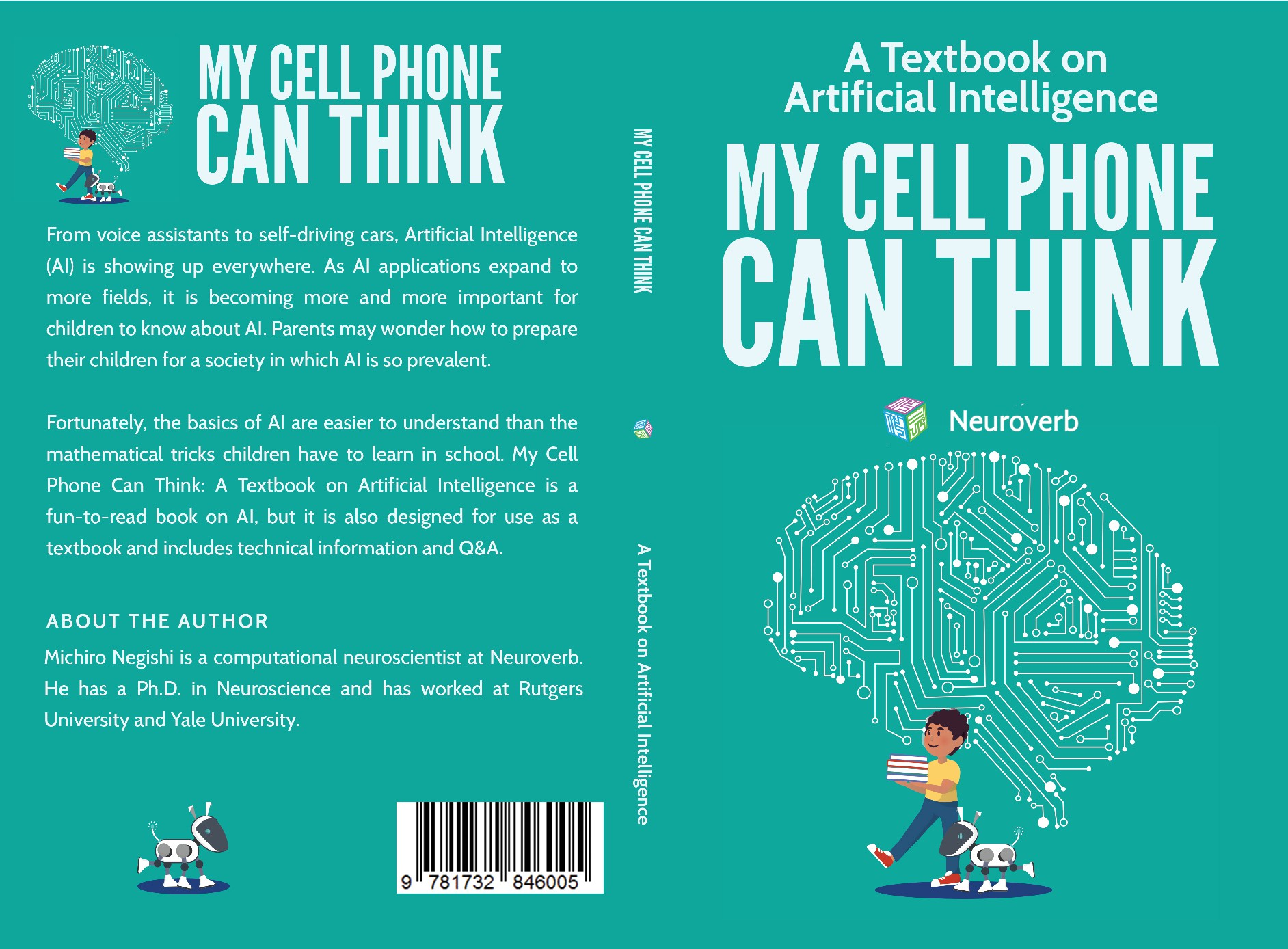 My cell phone can think: a textbook on Artificial Intelligence.