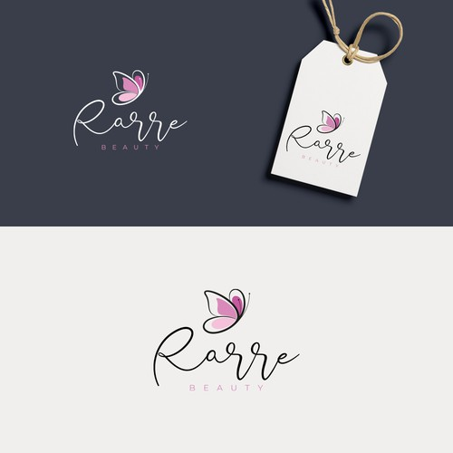Logo Design Rarre Beauty