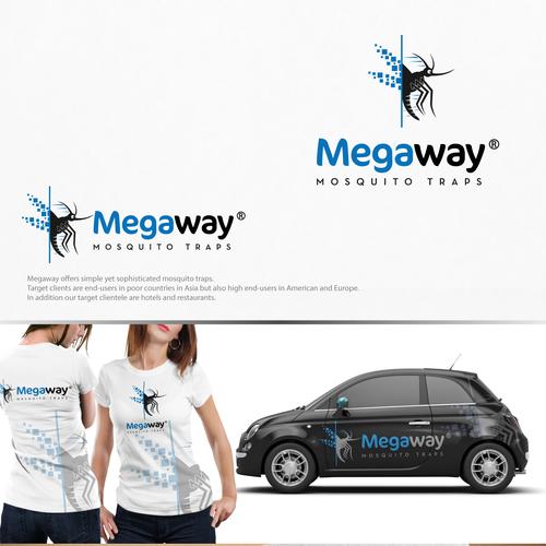 bold logo concept for Megaway.